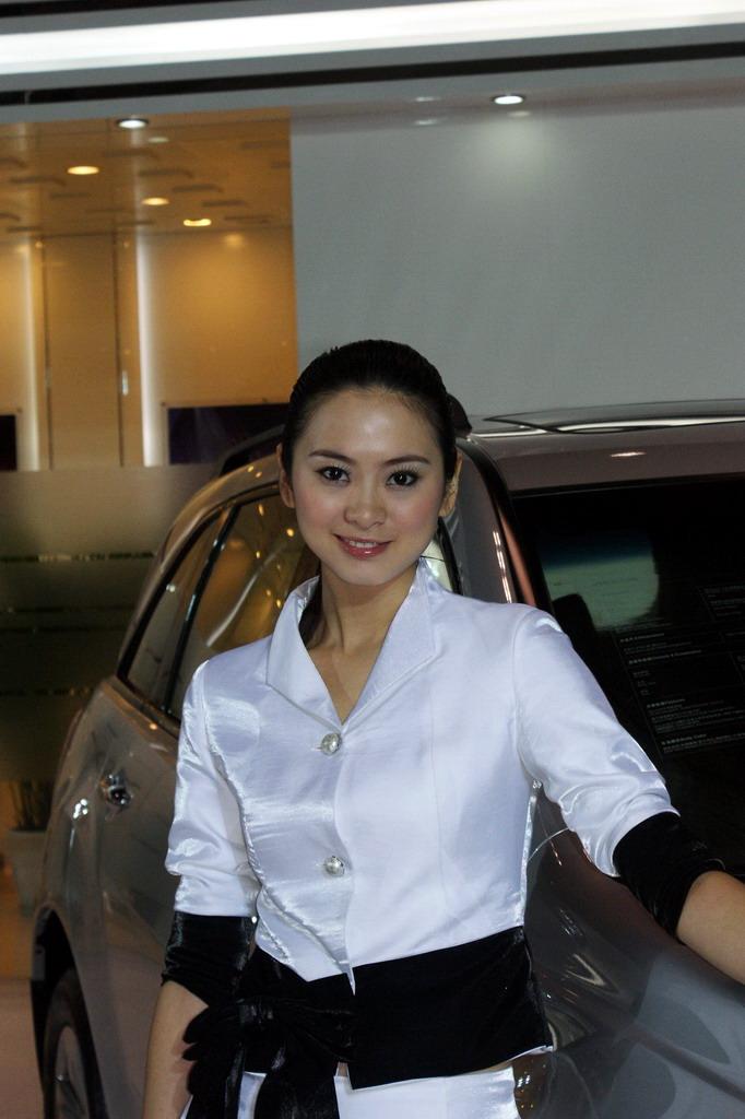2009重庆车展美女模特