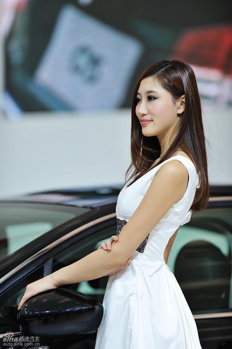 广州车展美女高清图