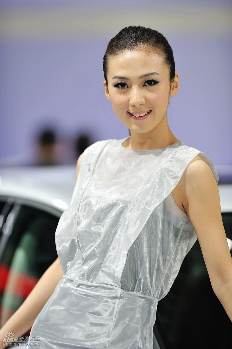 2009广州车展高清美女图