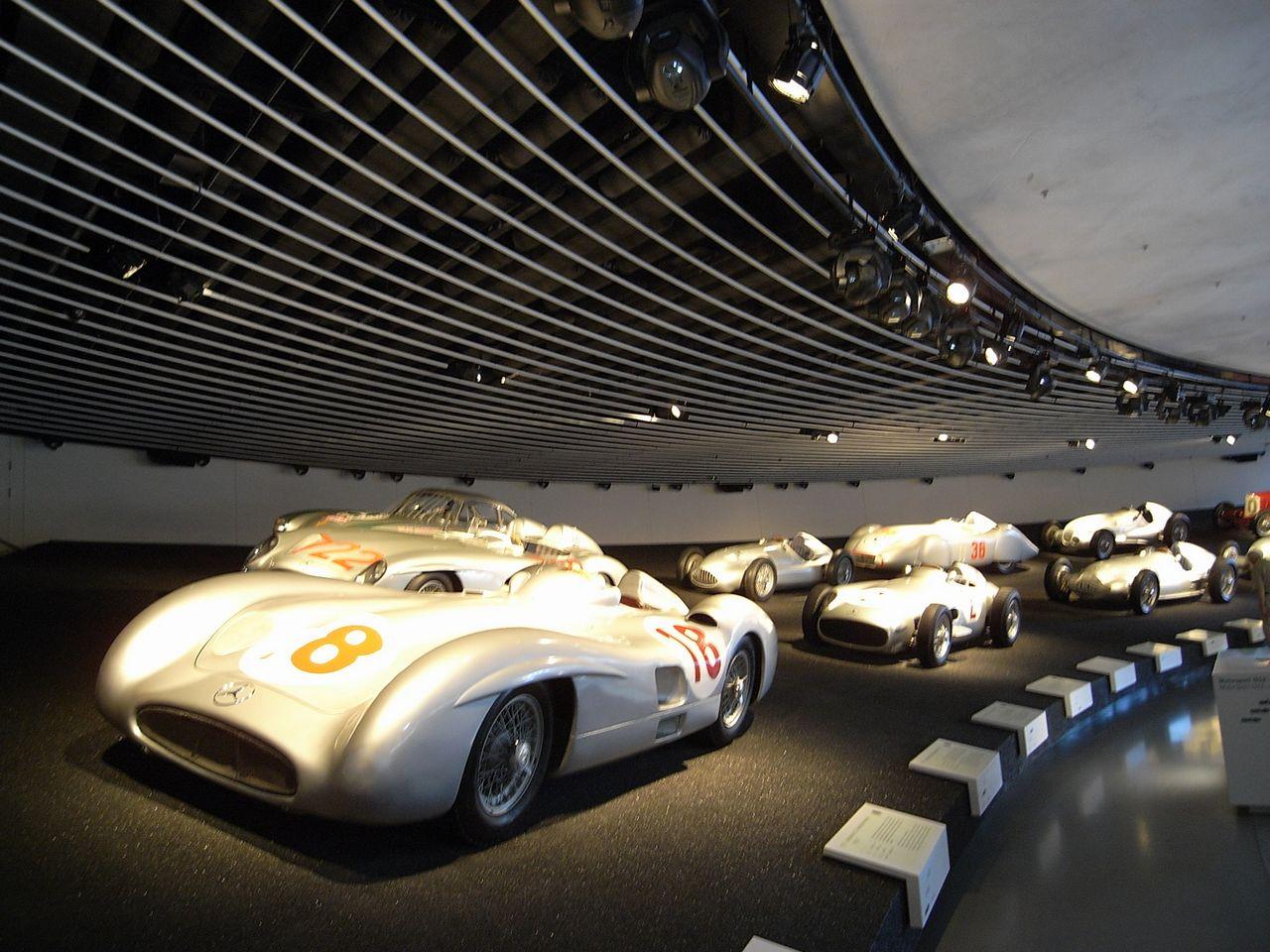 奔驰汽车博物馆图片高清图片
