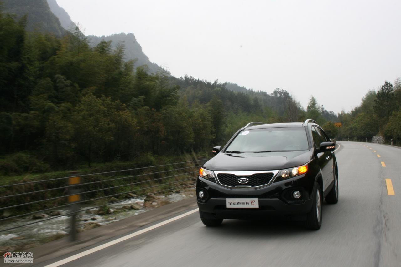 柴油版索兰托试车-动态