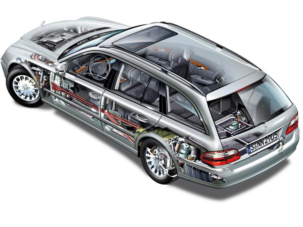 汽车向来展现给大家的都是外观和内饰,底盘结构和车身骨架人们很高清图片
