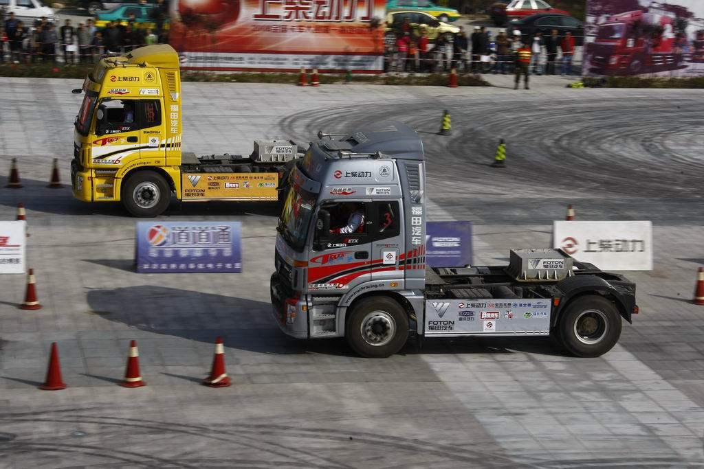 2008福田欧曼・欧康杯第六届全国卡车大赛