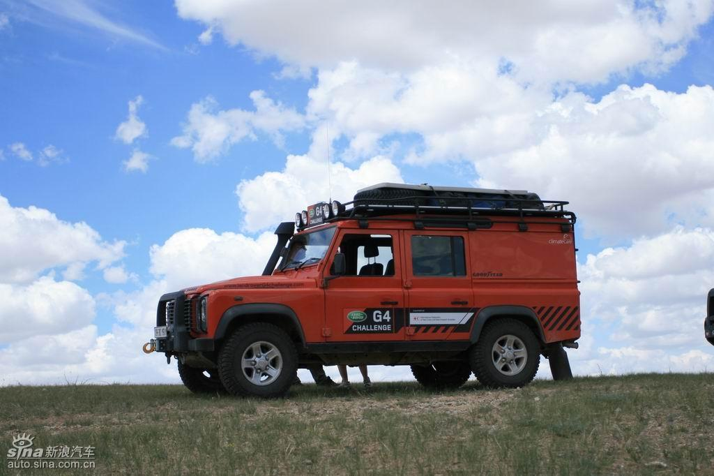 路虎g4蒙古探路 图片 新浪汽车 新浪网