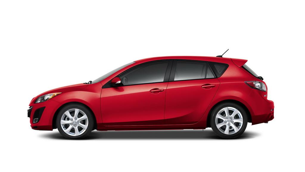 全新进口Mazda3两厢外观高清图片