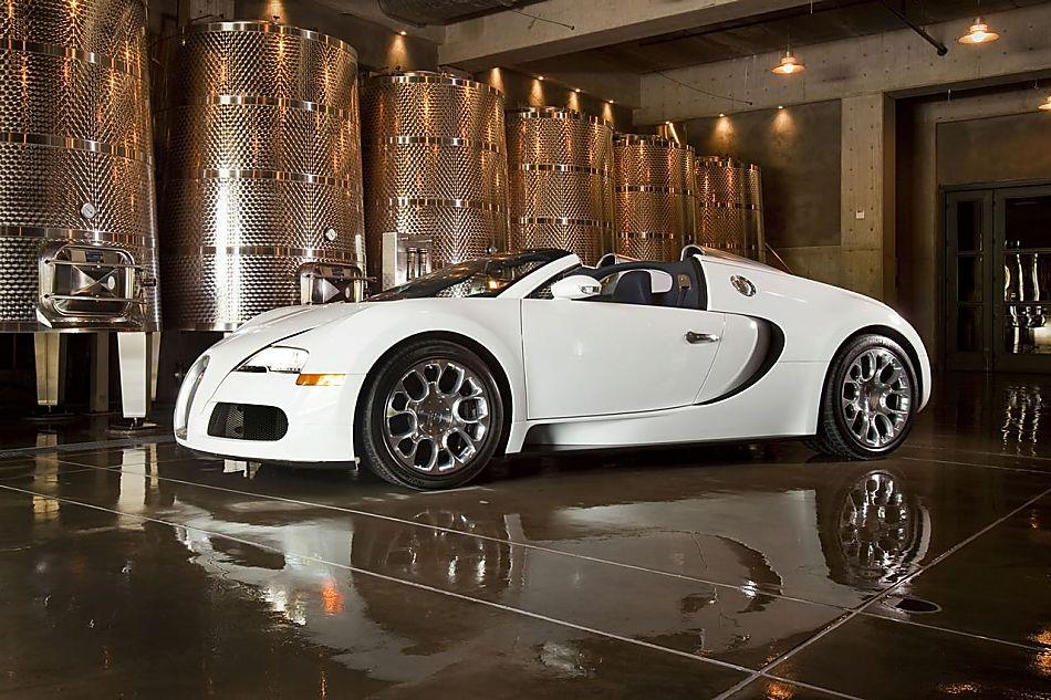 Bugatti Veyron 16.4 Grand Sport Roadster外观图片