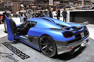蓝色闪电 柯尼塞格Agera R