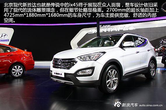 新浪汽车图解北京现代新胜达
