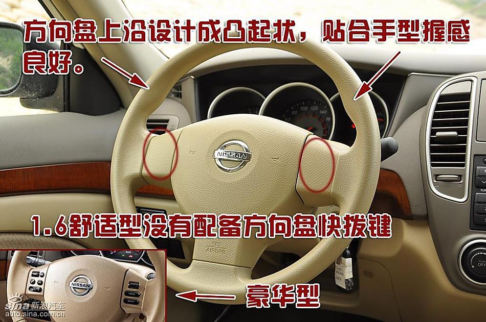 东风日产轩逸09款图片说明书