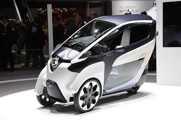 未来城市通勤车 丰田i-ROAD发布