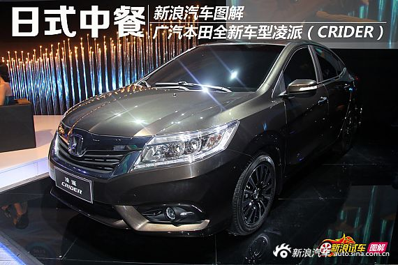 Honda多款全新车型上海车展全球首发