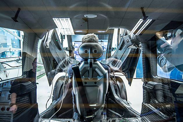 前沿科技触达未来 壳牌超节能城市概念车