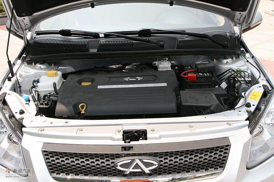 2011款奇瑞A3发动机