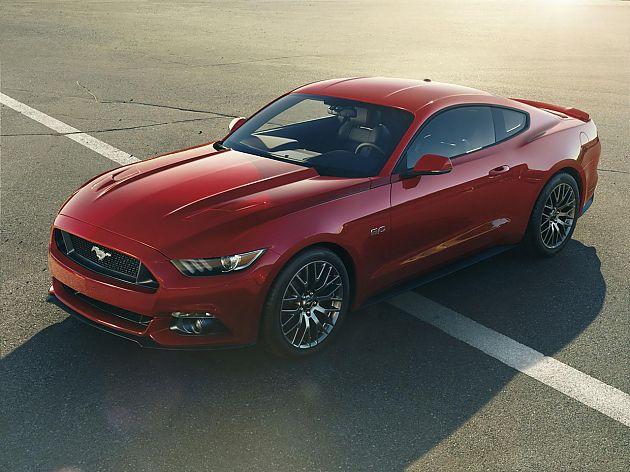 2015款福特Mustang性能规格公布