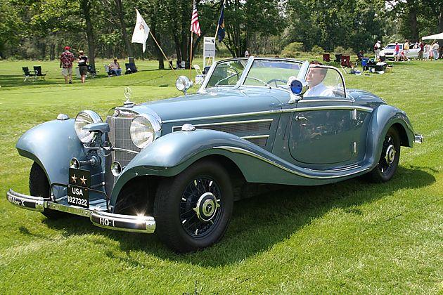 战争年代的高端定制 梅赛德斯-奔驰540K
