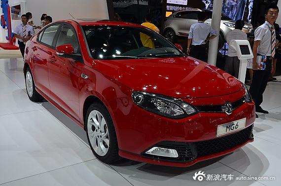 2013成都车展新车实拍:MG6
