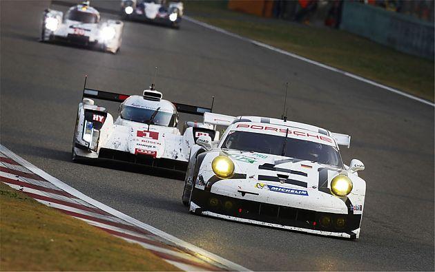 Porsche 911 RSR获WEC中国站冠亚军