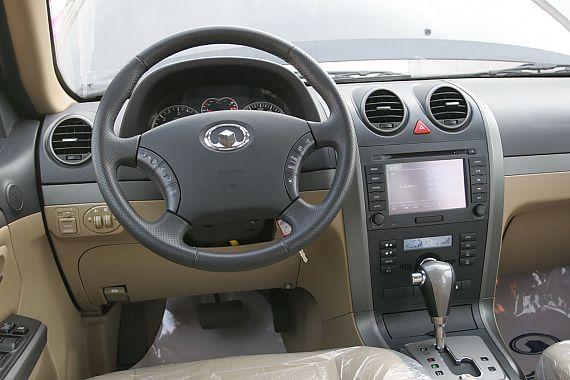 哈弗H5欧风版2.0T柴油自动挡内饰及细节