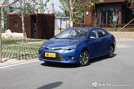 2014款雷凌1.8V CVT豪华版蓝色