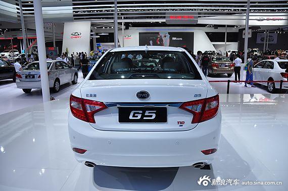 2014成都车展:比亚迪G5