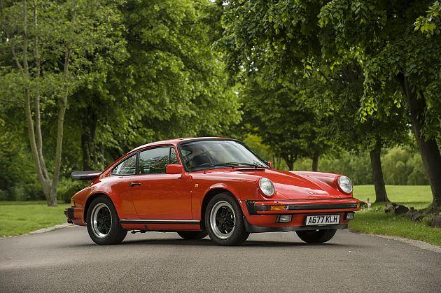 1984年款保时捷911 詹姆斯梅座驾拍卖