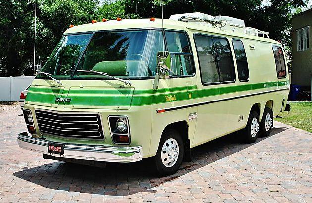 1976款GMC Motorhome远足房车