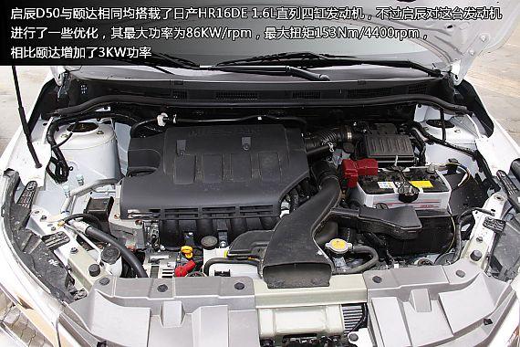 新浪汽车体验试驾东风日产启辰D50