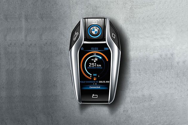 Ces:宝马2 2英寸屏幕智能钥匙回归 车致 新浪网