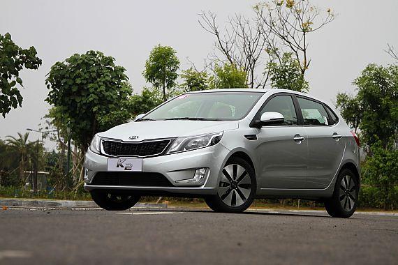 2012款东风悦达起亚K2 1.6L自动Premium两厢