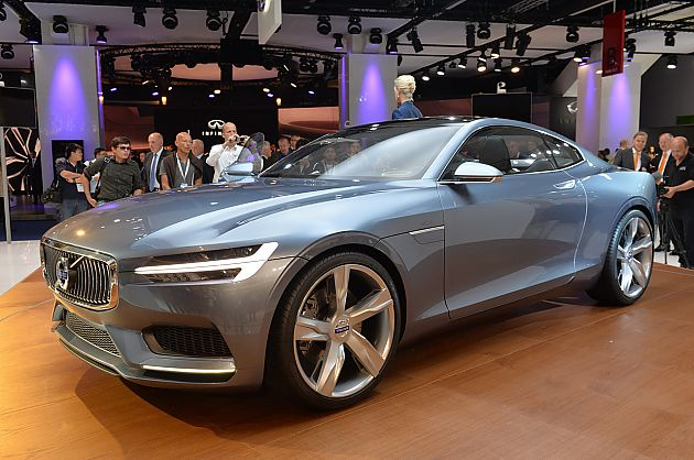 沃尔沃Concept Coupe概念车亮相法兰克福