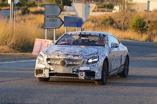 2015梅赛德斯-奔驰S63 AMG Coupe谍照