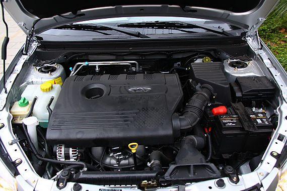 奇瑞E5 1.8L CVT发动机与底盘