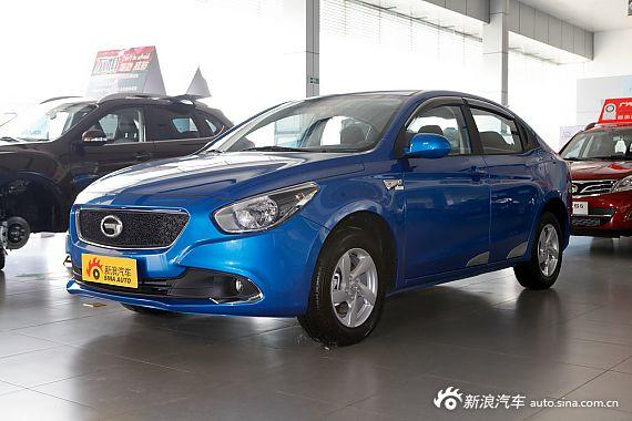 2013款传祺GA3 1.6L手动精英版