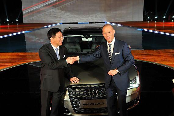 2011款奥迪A8L W12上市发布会