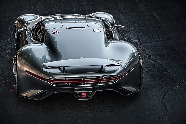 奔驰AMG Vision GT概念车独家登陆《GT6》