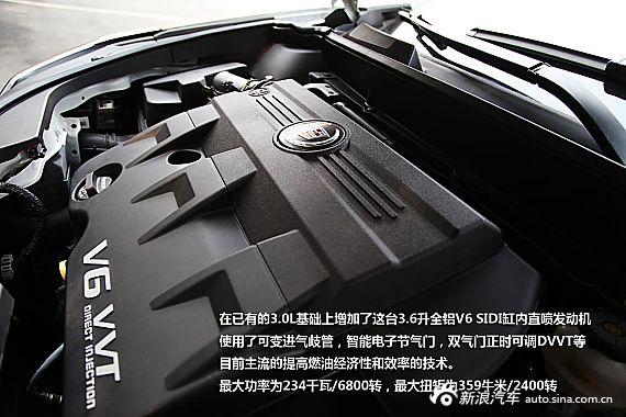 新凯迪拉克SRX 3.6L旗舰型试驾图解