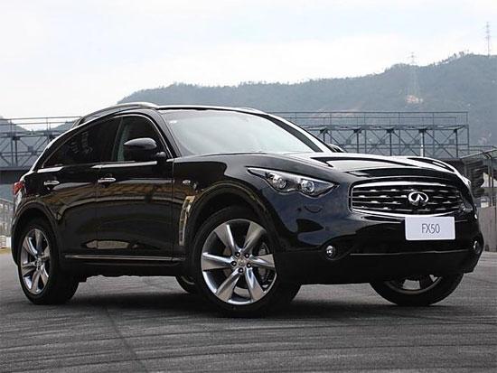 英菲尼迪FX全系现车销售售38.8万元起