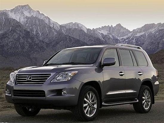 雷克萨斯LX570天津现车售价164.50万