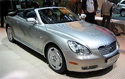 2001款雷克萨斯SC430