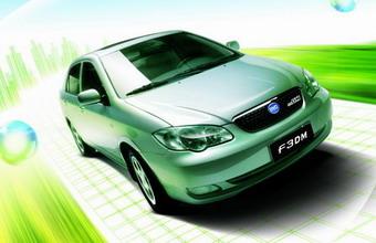 比亚迪F3DM低碳版双模电动车