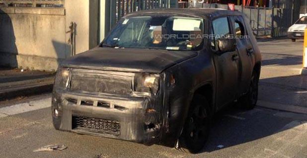 Jeep入门级SUV谍照曝光 或亮相日内瓦