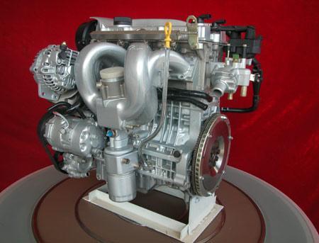 0l 发动机.该发动机基本结构为双顶置凸轮轴,每缸4气门,缸径83.