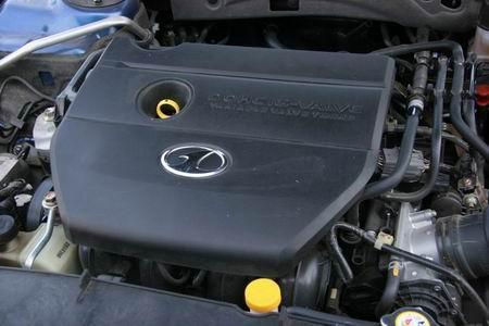 一汽奔腾2.3豪华型发动机图片