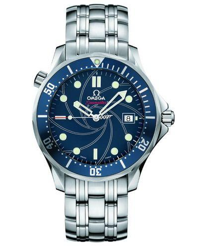 图为欧米茄海马系列300米潜水手表