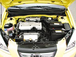 RIO千里马搭载1.4L发动机,带顶置双凸轮轴16气门设计。