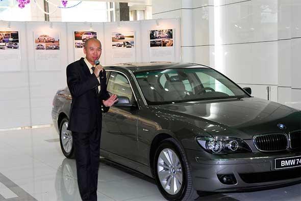 宝马7系诞生30周年,驾驶体验活动登陆北京京宝行,宝马培训师讲车