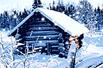冬天的小屋