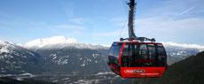 冬季约会滑雪胜地惠斯勒