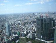 可以俯瞰东京的丽晶都凯越酒店