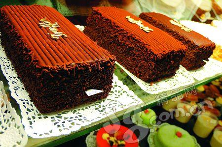 Confiserie Tschirren也出售自制的各种糕饼,品种虽多,每样产量却很少